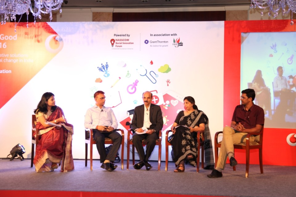 Panel discussion on 'Technology for Good  - Relevance  need and Significance in India