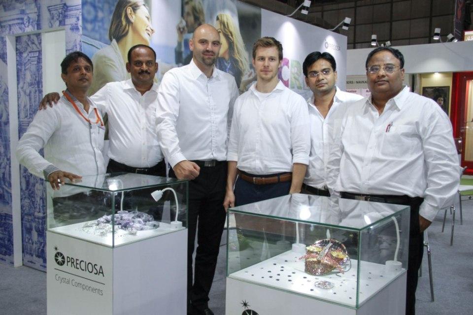 Mr.Venkatesan Sundarrajon Consultant  Marek Kinazs Product Manager with Martin Spalek Key Account Manager along with _