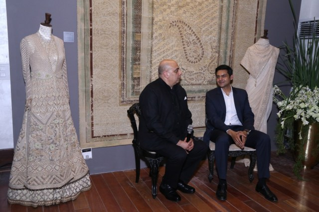 tarun-tahiliani-and-rudra-chatterjee-chairman-obeetee