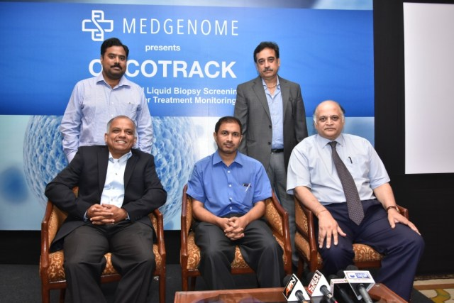 "MedGenome launches ""ONCOTRACK"", the Liquid Biopsy blood test for"