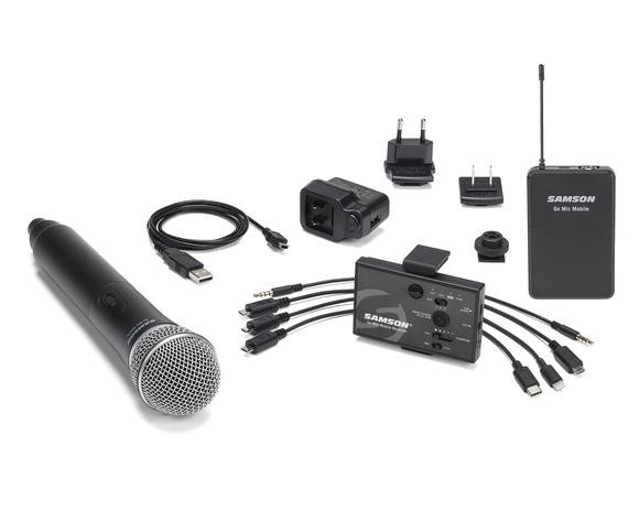 Samson Go Mic Mobile Now Available for Mobile Content