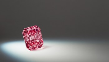 rio tinto reveals its largest red diamond at world exclusive preview