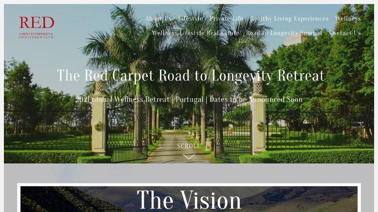 Digital Marketing work for Red Carpet Enterprises