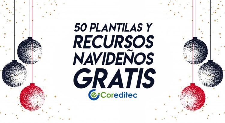 50 plantillas y recursos navideños gratis