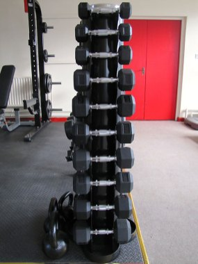 Free Weights at Durrow Gym