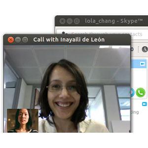 Linux Chat vidéo