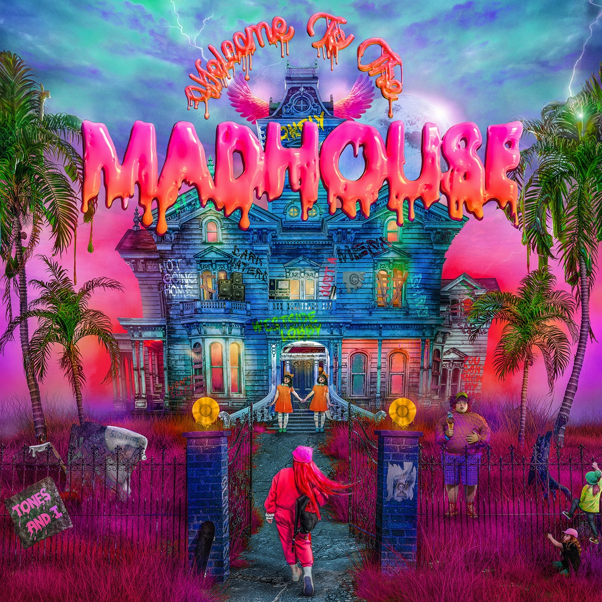 ALBUM: Tones and I – Welcome to the Mad House (Japanese Edition)