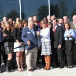 1115Stahls Texas Ribbon Cutting 11-19-15 Closeup 2
