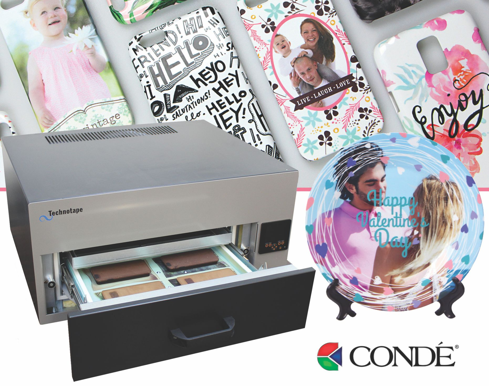 Condé Introduces Technotape 3D Vacuum Oven for Sublimation Transfer