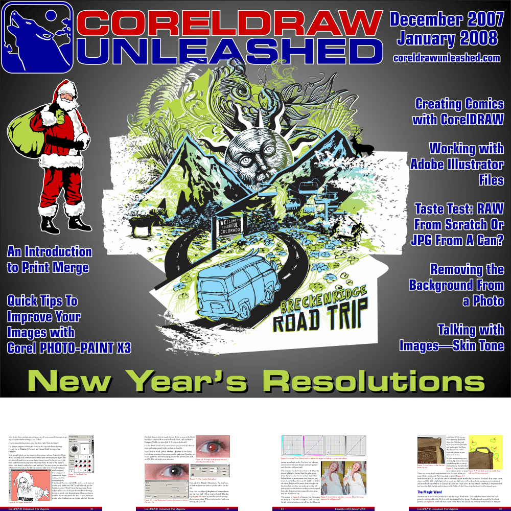 CorelDRAW Unleashed Magazine December 2007/January 2008 Issue