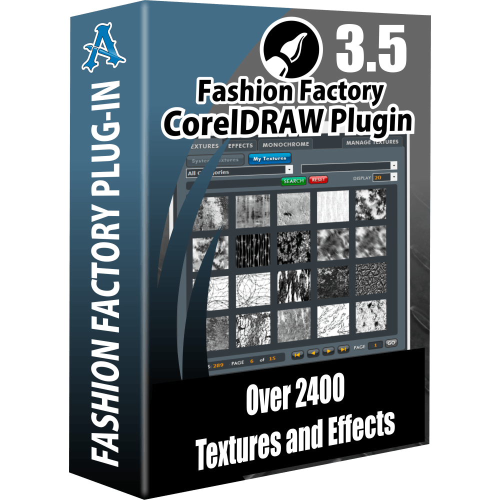 Fashion Factory 3.5 CorelDRAW Plugin