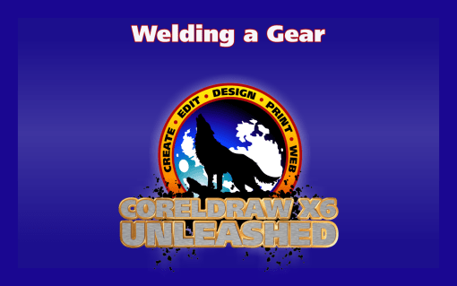 Creating a Gear Using the Weld Tool in CorelDRAW