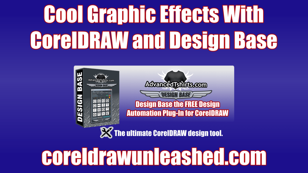 Cool Graphic Effects With CorelDRAW and Design Base Free Automation Plug-In for CorelDRAW