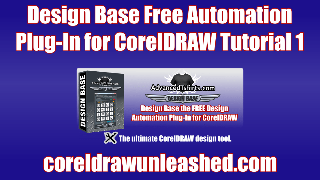 Design Base Free Automation Plug-In for CorelDRAW Tutorial 1