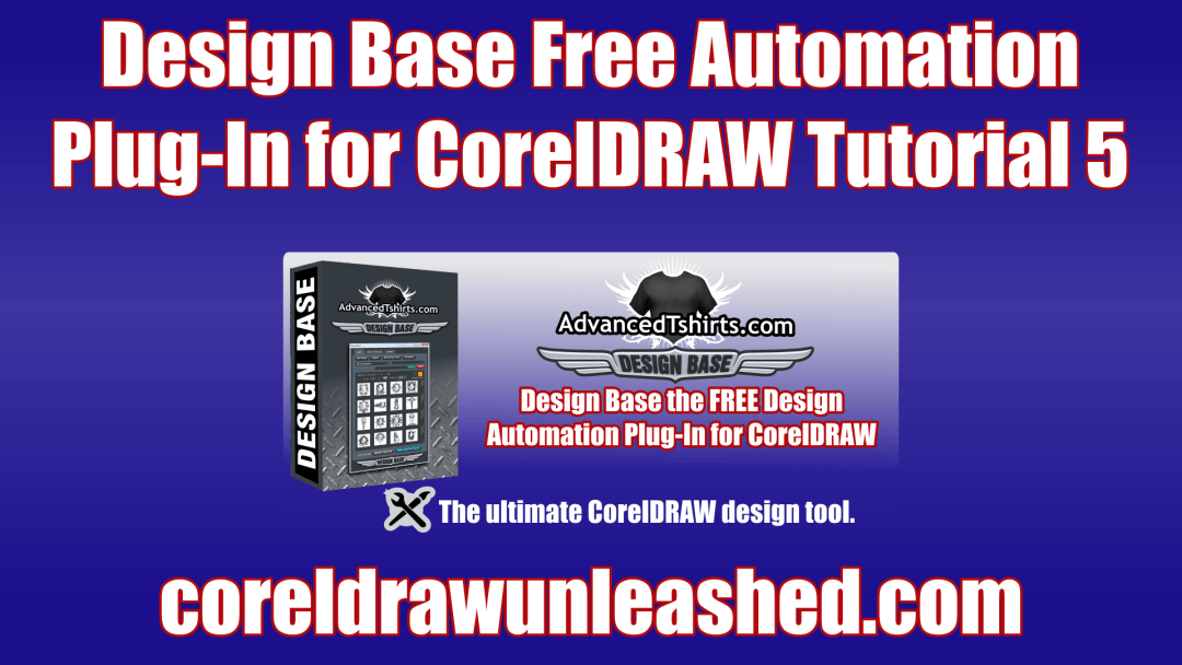 Design Base Free Automation Plug-In for CorelDRAW Tutorial 5