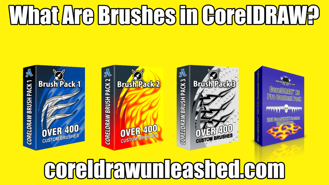 What Are Brushes in CorelDRAW?