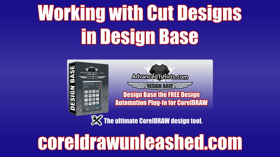 Working with Cut Designs in Design Base