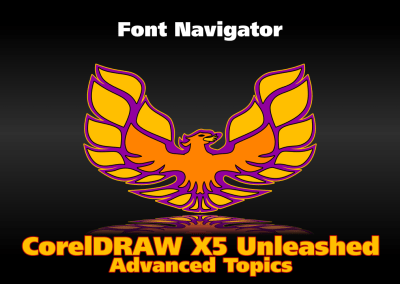 Using Font Navigator Supplied with CorelDRAW to Manage Fonts