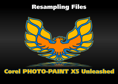 Resampling Files in Corel PHOTO-PAINT
