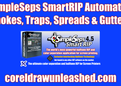 SimpleSeps SmartRIP Automated Chokes, Traps, Spreads and Gutters