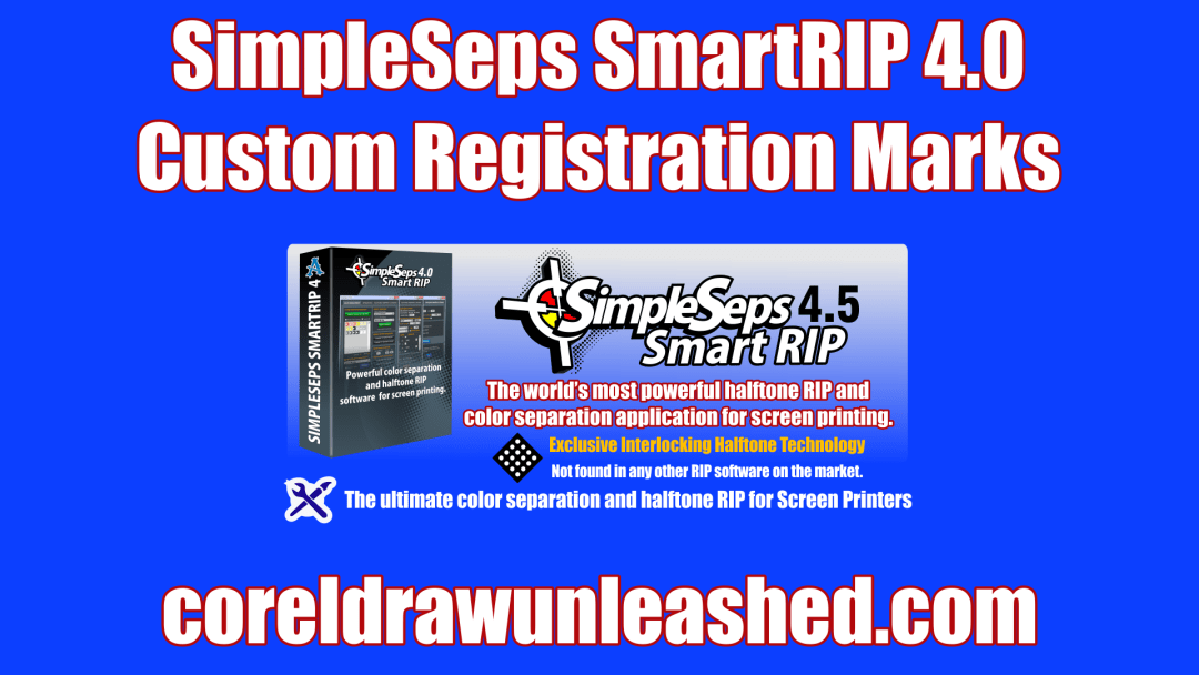 SimpleSeps SmartRIP 4.0 Custom Registration Marks