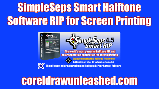 SimpleSeps Smart Halftone Software RIP for Screen Printing