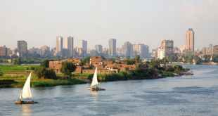 The Nile river in Cairo. Grant Faint/Getty Images