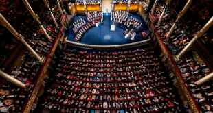 Mostly male, white faces up on stage at the Nobel Prize award ceremony. © Nobel Media/Alexander Mahmoud
