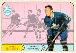 Larry Mickey Toronto Maple Leafs