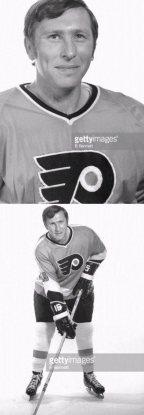 Larry Mickey Philadelphia Flyers