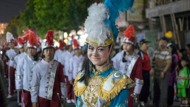 Mayoret Marching Band Festival Lentera Blitar