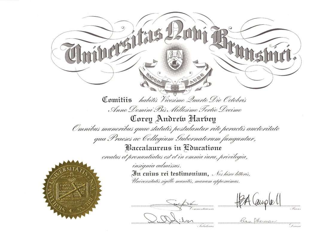University Degrees And Certificates