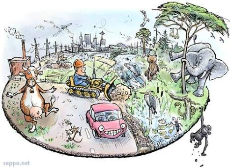 Cartoon guide to biodiversity loss IX (3/6)