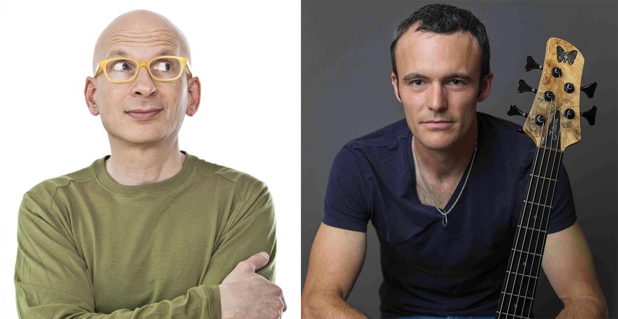 Seth Godin and Janek Gwizdala