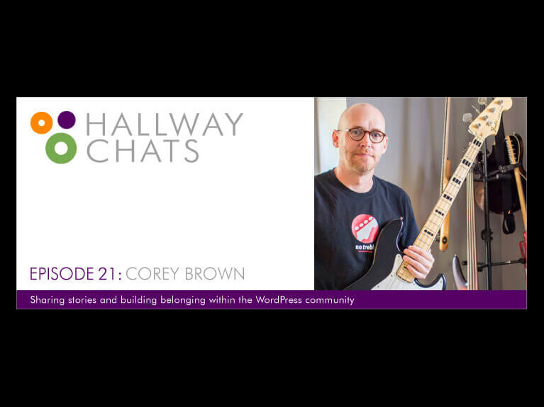 Hallway Chats Episode 21 - Corey Brown
