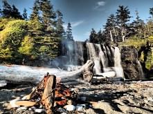 Tsusiat Falls ... BEAUTIFUL