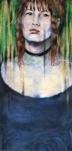 painting by Corey Okada: Mary-Go-Round (2017)