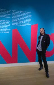 Corey Okada visits the Warhol exhibit at the Crocker Art Museum