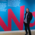 Corey Okada visits the Warhol exhibit at the Crocker Art Museum