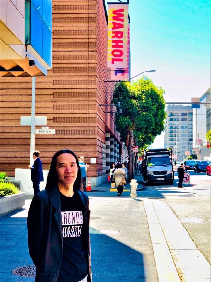 Corey Okada visits the Warhol exhibit at SFMOMA