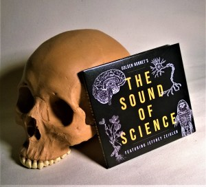 The Sound Of Science CD, with skull