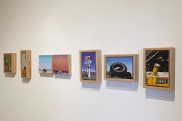 COLA Exhibition 2014, installation view