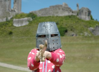Corfe Castle for Kids