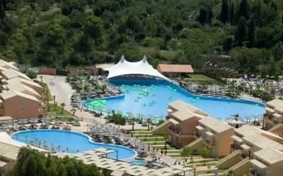 Aqualand Waterpark, Central Corfu