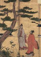 Japanese drawing Corfu Asian Art Museum