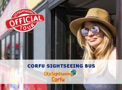 corfu sightseeing bus