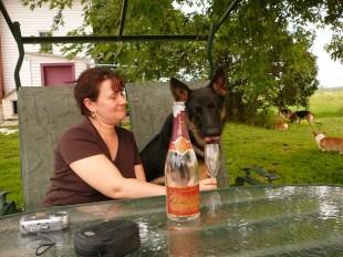 Du Champagne c Délicieux!