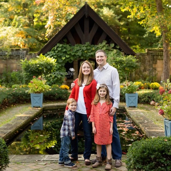 Stan Hywet Fall Family Photography