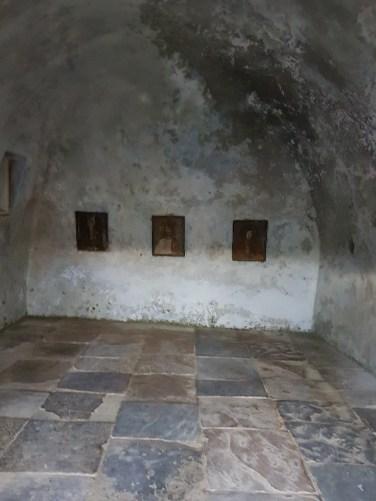 pictura pe lemn Manstirea Corbii de Piatra
