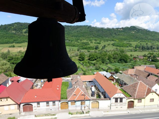 Cetatea din Axente Sever, surpriza din drum
